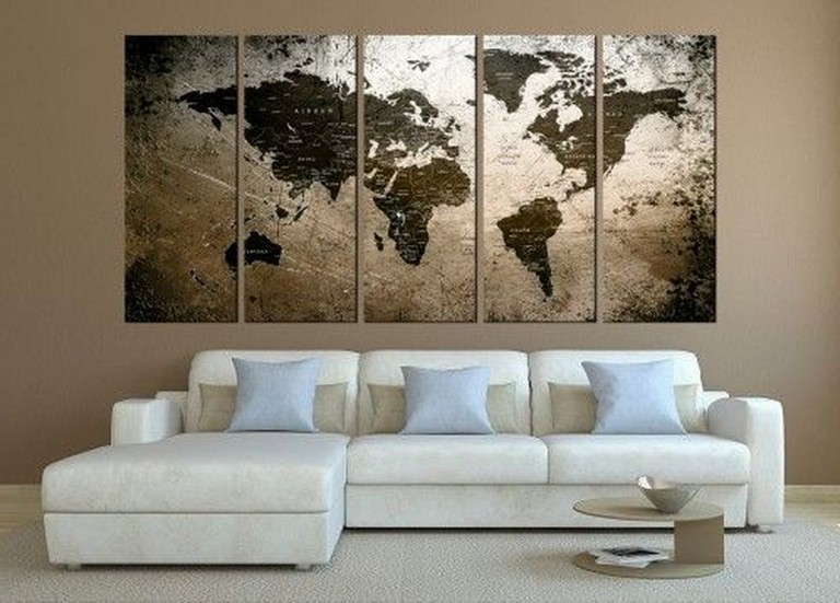 40 Interesting Canvas Wall Art Decor Ideas For Your Living Room