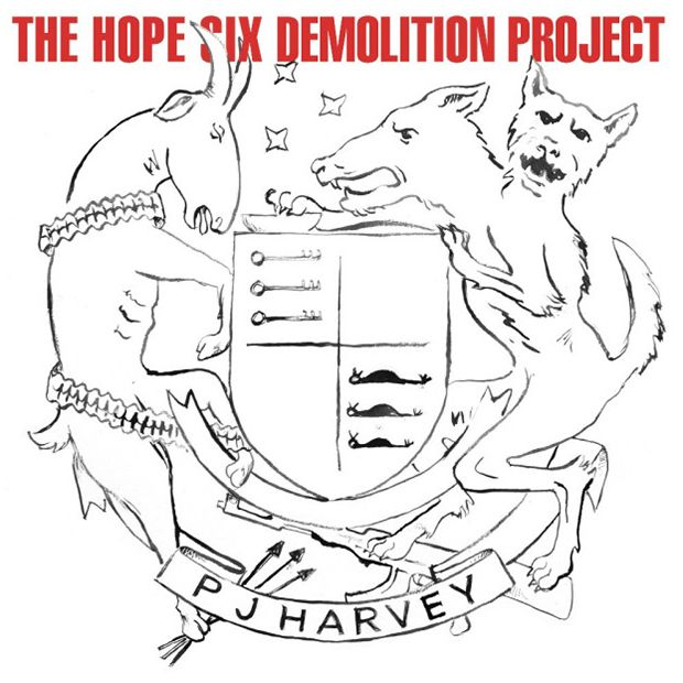 """11. PJ Harvey – """"The Hope Six Demolition Project"""".  Eigentlich eine Protestplatte, eine Platte über den Krieg, die Ver"""
