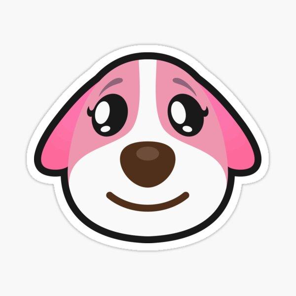 votgl 100 Animal Crossing Friends Association Cute Cartoon Doodle Stickers Computadora m/óvil Notebook Casco Etiqueta engomada del Cuerpo del Coche