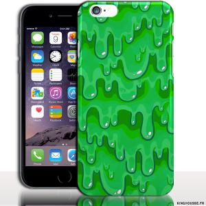 coque rigide iphone 6 plus vert
