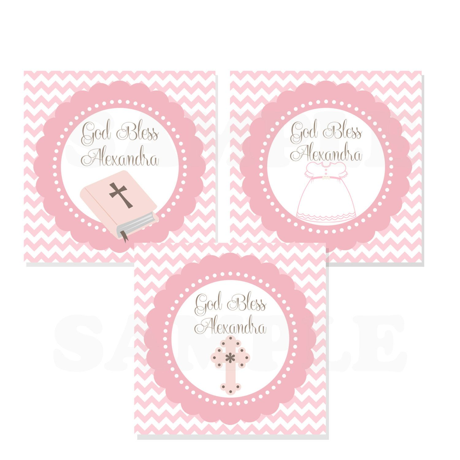 Personalized baby girl baptism christening favor tags printable personalized baby girl baptism christening by thelovelymemories 800 negle Gallery