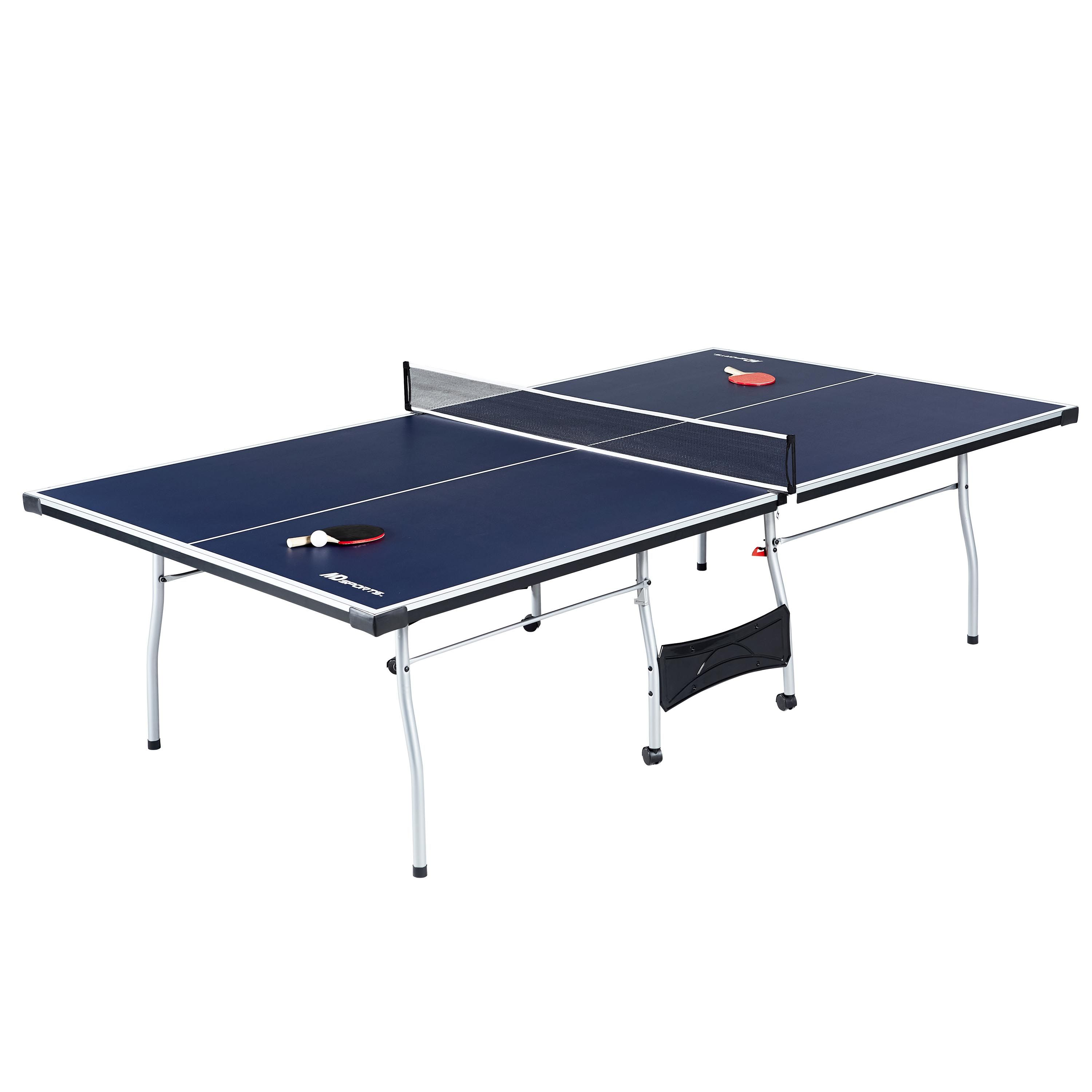 Md Sports Official Size 15mm 4 Piece Indoor Table Tennis Tennis Accessories Included Blue White Walmart Com Table Tennis Set Table Tennis Ping Pong