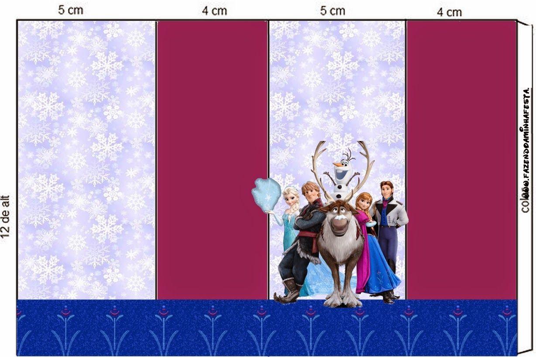 Fiesta Frozen: Etiquetas para Candy Bar, para Imprimir Gratis ...