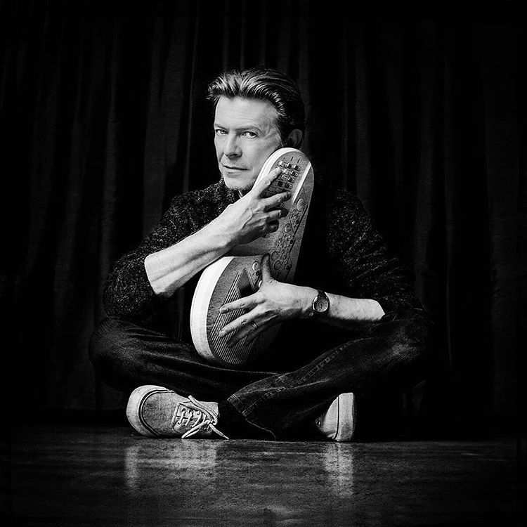 David Bowie photographed after the Concert For New York City, October 2001 © Myriam Santos