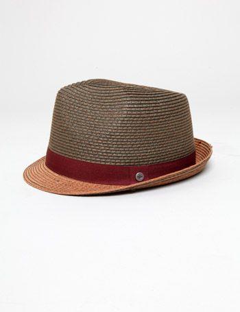 Dockers Straw Fedora Hat