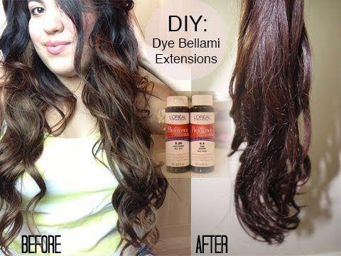 Diy dying bellami hair extensions youtube pinterest hair diy dying bellami hair extensions pmusecretfo Gallery