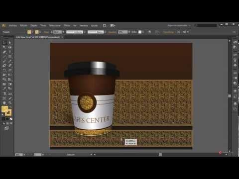 Tutorial Illustrator 092 Presentacion de producto 3D y texturas - YouTube