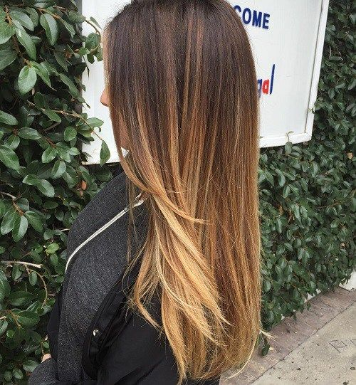 60 Hairstyles Featuring Dark Brown Hair With Highlights Balayage