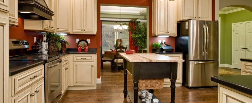 I also love this kitchen, the are beautiful
