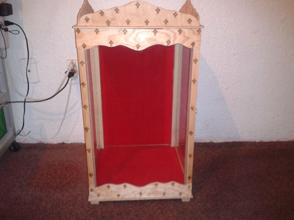 nicho de madera para niño dios o algún otro santo | alcansando la ...