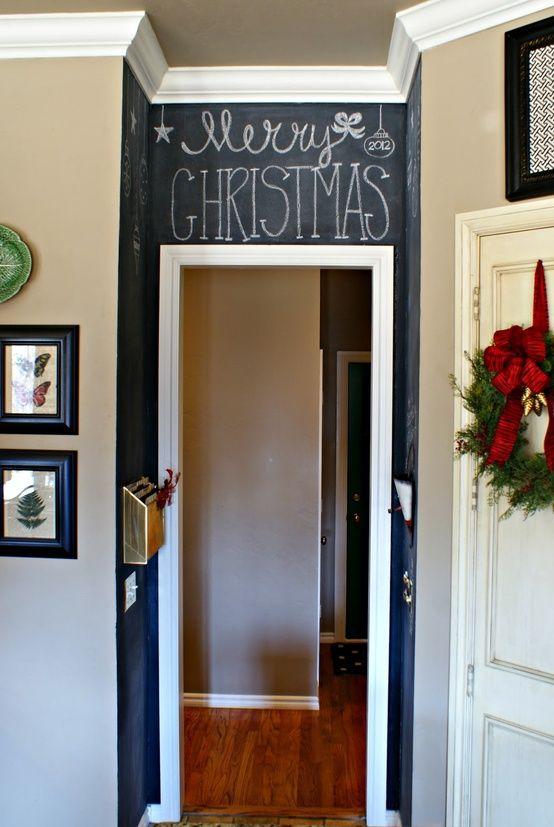 Lovely Kitchen Chalkboard Wall Ideas