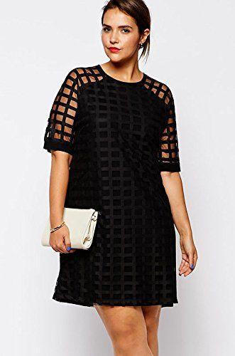 Dear-lover Women's Netty Mesh Overlay Plus Size Mini Dress XX-Large Size Black Dear-lover http://www.amazon.co.uk/dp/B00PFHTCES/ref=cm_sw_r_pi_dp_qdDLub1RTAR3V