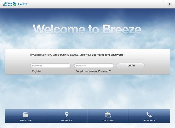 Design Ios Ipad App Breeze Online Banking Standard Chartered Http Xtrudestudios Com Http Www Youtube Com Watch V Fhzs A1i4 Online Banking Locations Enter