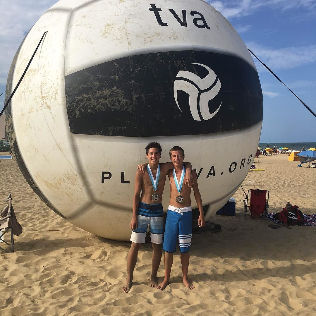 Congrats To Ethan Smith Joey Chung For Their 2nd Place Finish At The East Coast Surfing Championships This Was The Final Volleyball Clubs Volleyball Surfing