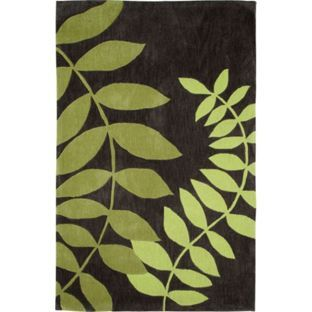 Leaves Rug 180x120cm Green At Argos Co Uk Your Online