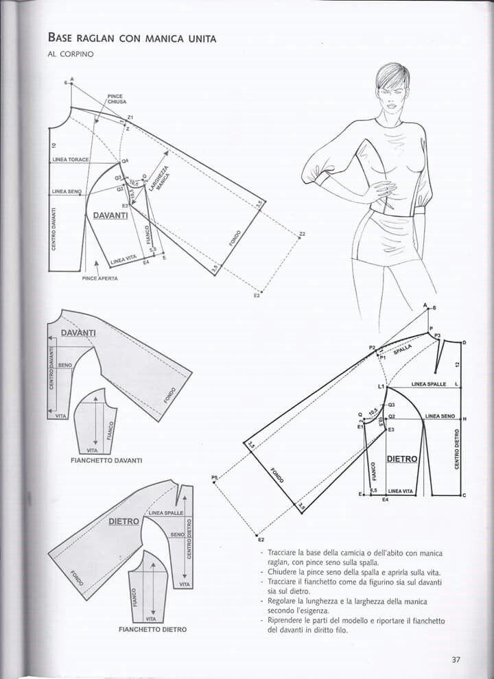 Pin de Bibiana Mesa en Costura | Pinterest | Costura, Patrones y Blusas