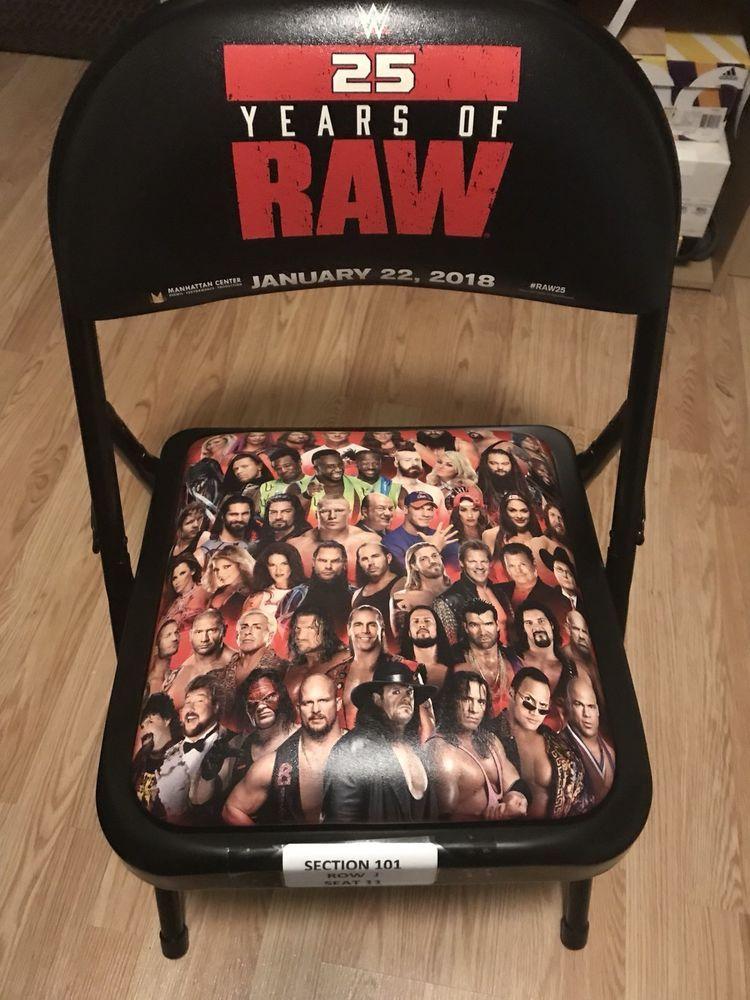 da7f71df1 WWE RAW 25 CHAIR MANHATTAN CENTER RARE!!! please retweet | WWE | Wwe ...