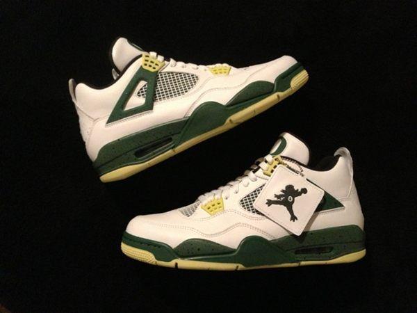 New custom shoe for Oregon Men's Basketball.
