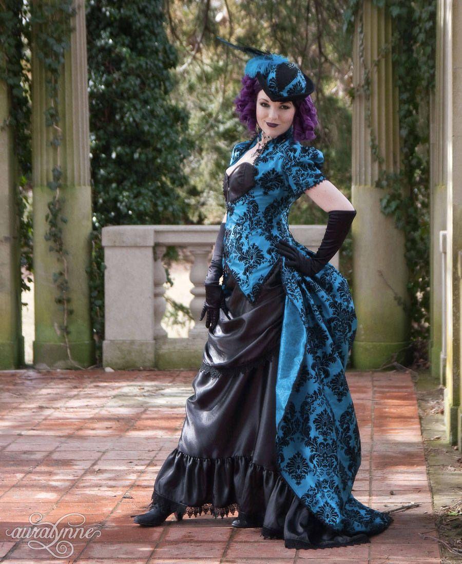 Gothic Wedding Dress | Cerulean Dreams | Alternative Wedding Dress ...