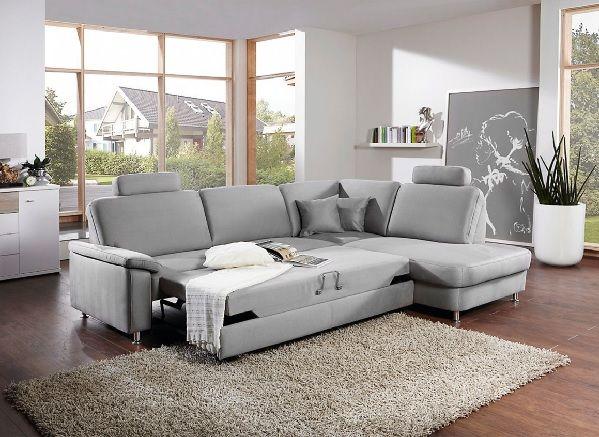 Mondo Wohnzimmer ~ Mondo polsterecke blade stoffbezug platin #sofa #wohnen