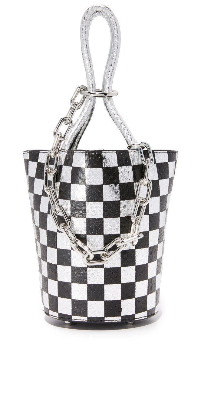 Alexander Wang Checkerboard Roxy Mini Bucket Bag | 15% off