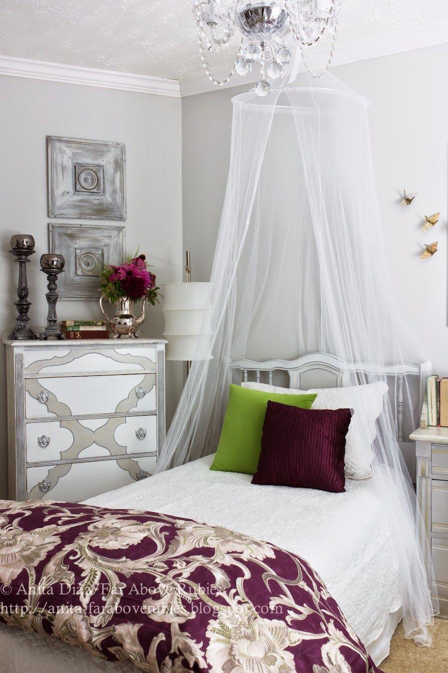 Teen Girls Glamorous French Bedroom On
