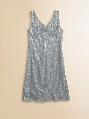 Sally Miller Girls Great Gatsby Sequin Dress #sallymiller