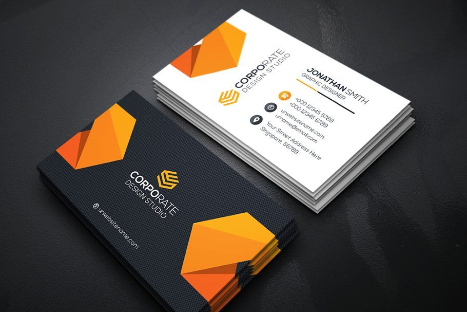 Creativebusiness Card Business Card Graphic Business Card Template Business Cards Creative Templates