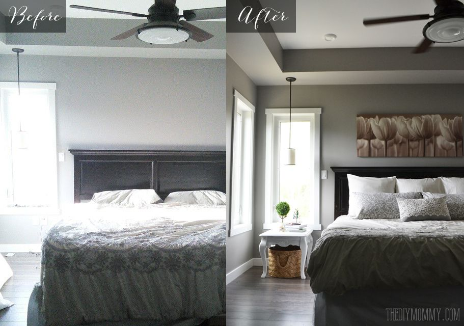 a quick diy master bed refresh the