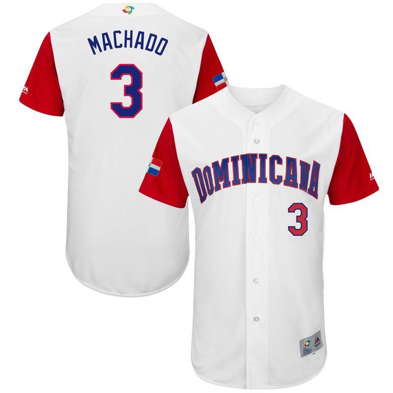 cheap nfl jerseys,nhl jerseys shop,wholesale mlb jerseys,nba jerseys sale  Men\u0027s Dominican Republic Baseball Manny Machado Majestic White 2017 World  Baseball ...