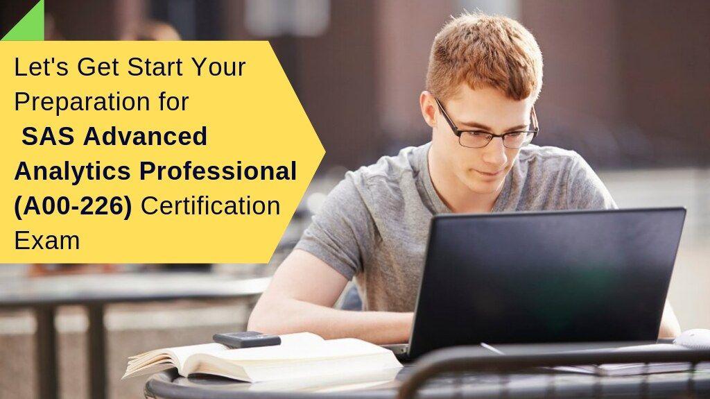 How to Prepare for SAS Advanced Analytics Professional