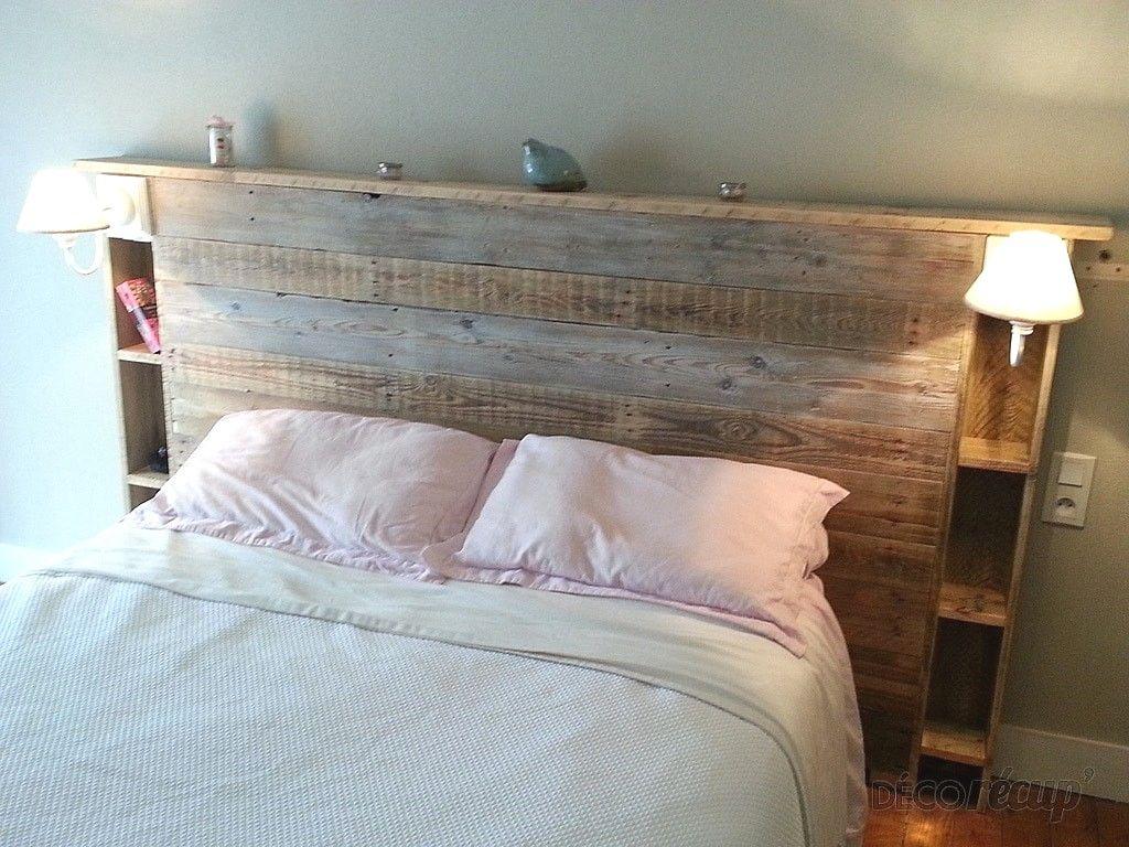 Modele De Lit En Palette tete lit palette avec tuto tete de lit palette avec comment