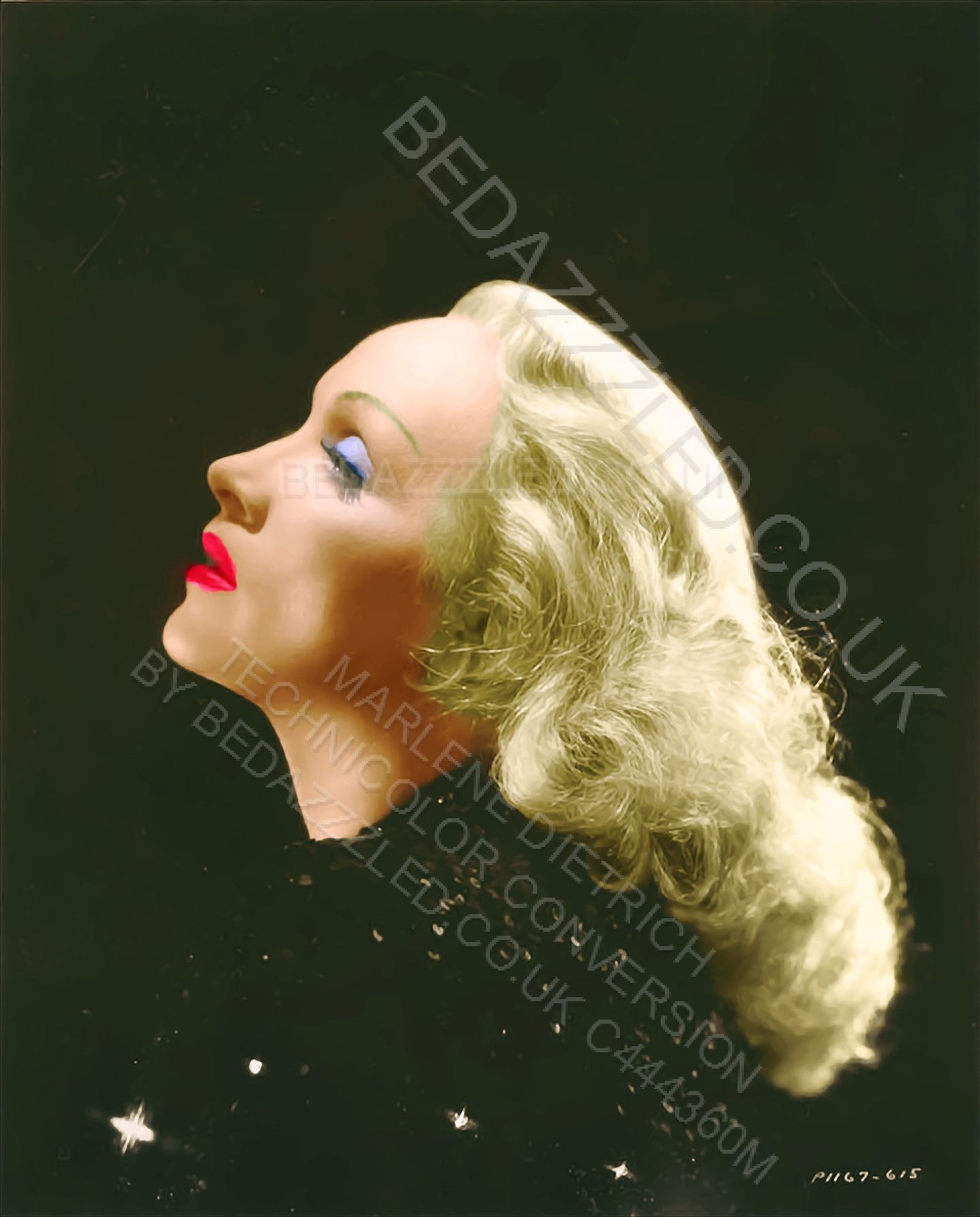 Marlene Dietrich Technicolor Conversion By Bedazzzled From Sepia  # Muebles Pubal Lieres