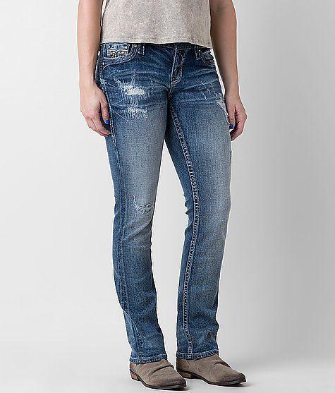 43c1f0a9f21 Rock Revival Adaliz Easy Straight Stretch Jean