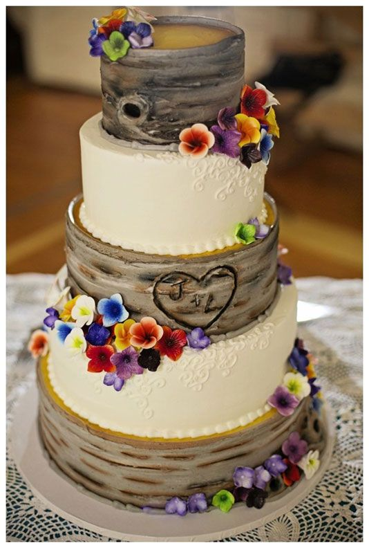 Get Ideas on Rustic Weeding Cake Decoration – Trendseve rustic cakes | All about Real Weddings - Wedding Blog
