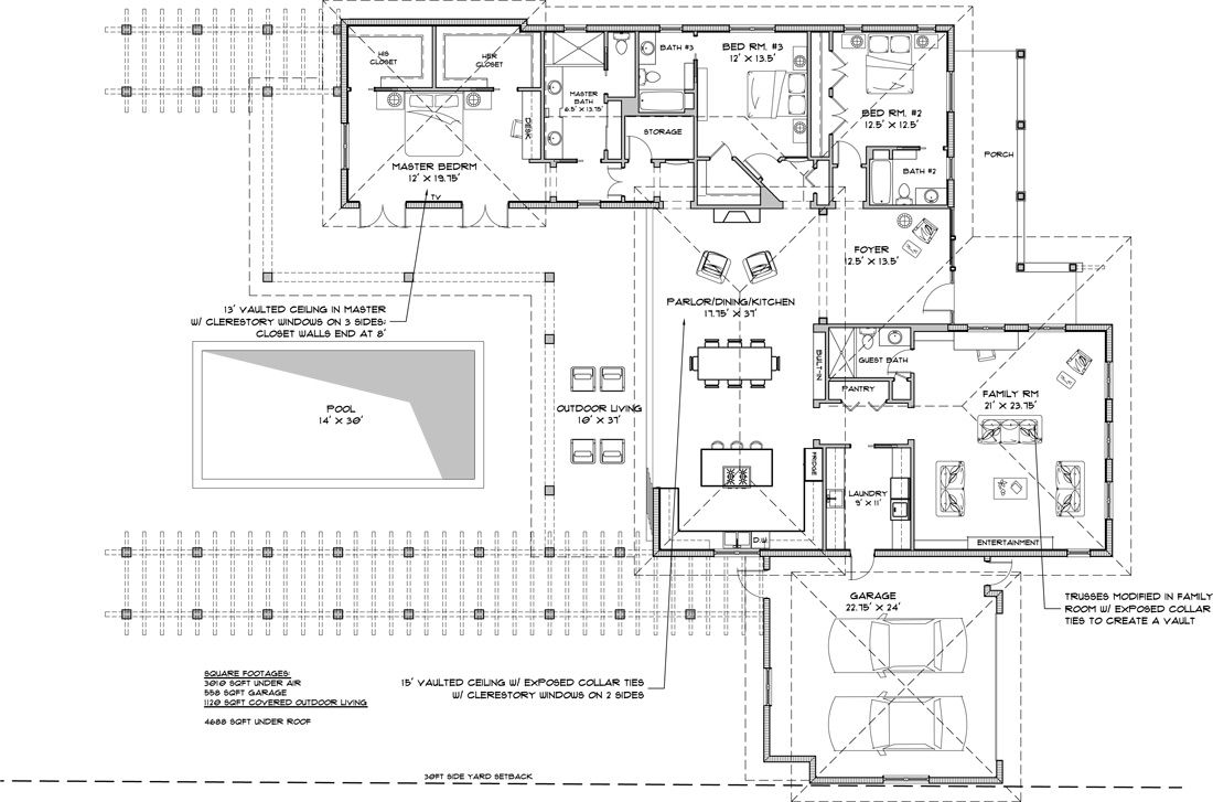 Residential Architecture plan, Residential, Floor plans