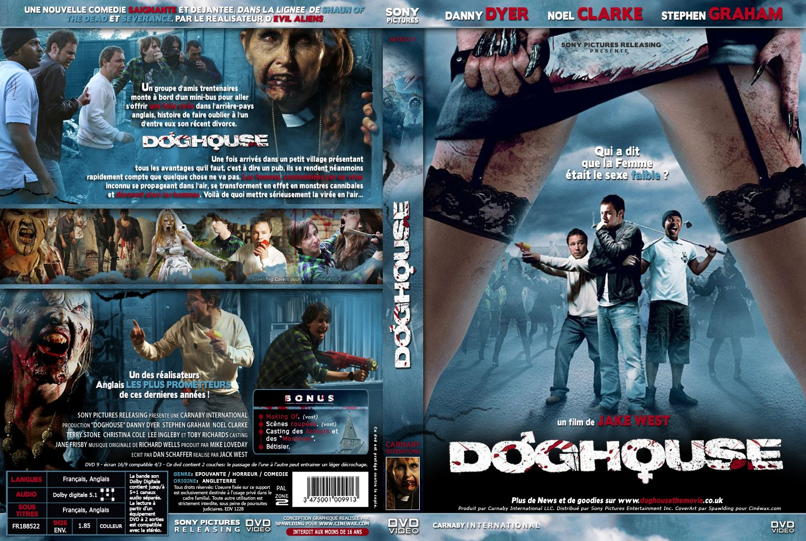 Doghouse 2009 Zombie Movies Film Cover