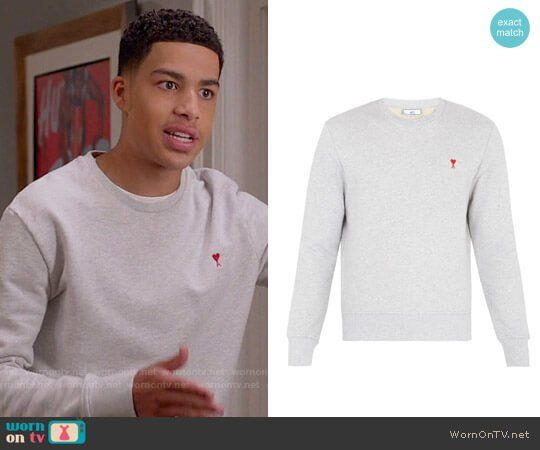 183690b9f5 Junior s Ace of Hearts sweatshirt on Black-ish