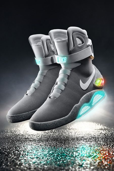 huge selection of c714e f0bc6 Nike Finally Unveils 2015 Nike MAG Back to the Future Shoes