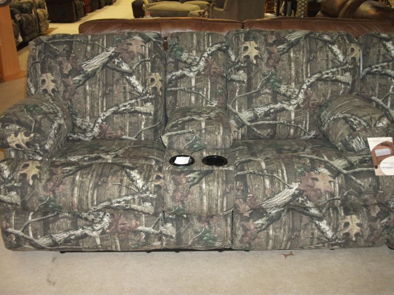 Dual Reclining Camo Loveseat Furniture World Galleries