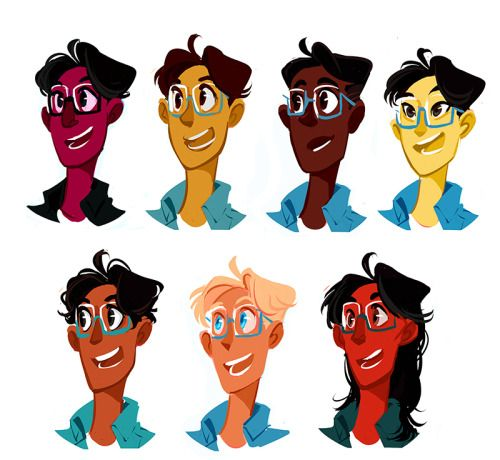 I got some asks for different race america so heres a few I whipped up this is amaziiiing