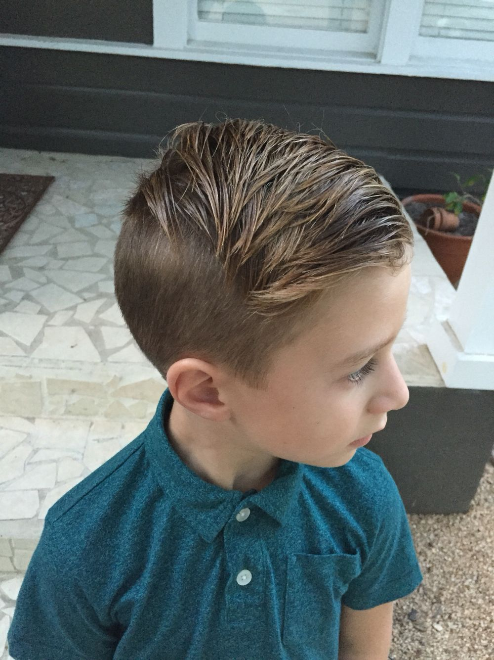 Boy Hair Lakes Undercut 7 Years Old Has Never Been More Hipster