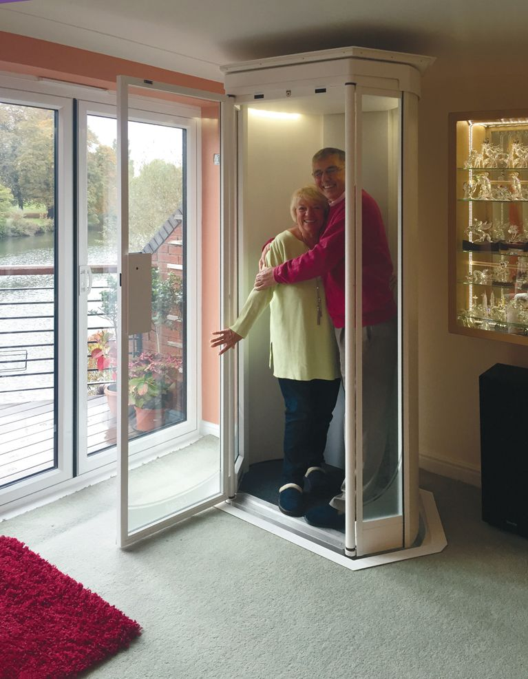 Our Lifestyle Home Lift Takes Up No More Space Than An Arm