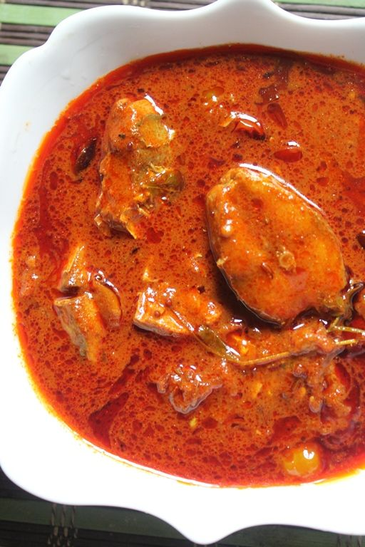 Andhra Spicy Fish Curry Recipe Andhra Chepala Pulusu Recipe Fish Curry Curry Recipes Indian Fish Recipes