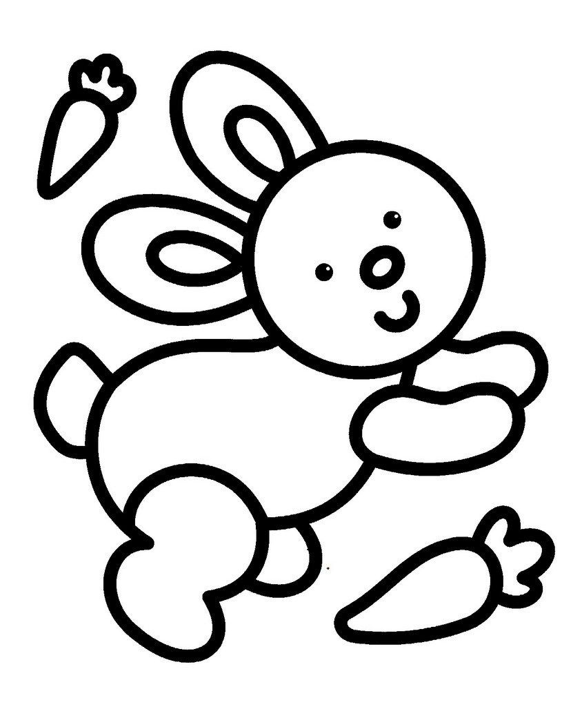 Coloriage Pour Bebe De 18 Mois Animal Coloring Pages Coloring Pages Easy Coloring Pages