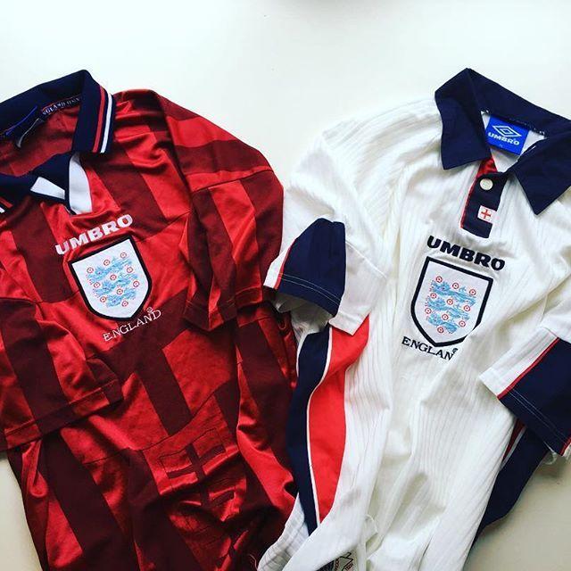 Pin By Iconickits On Football Kits Retro Football Shirts Vintage Football Shirts England Football Shirt