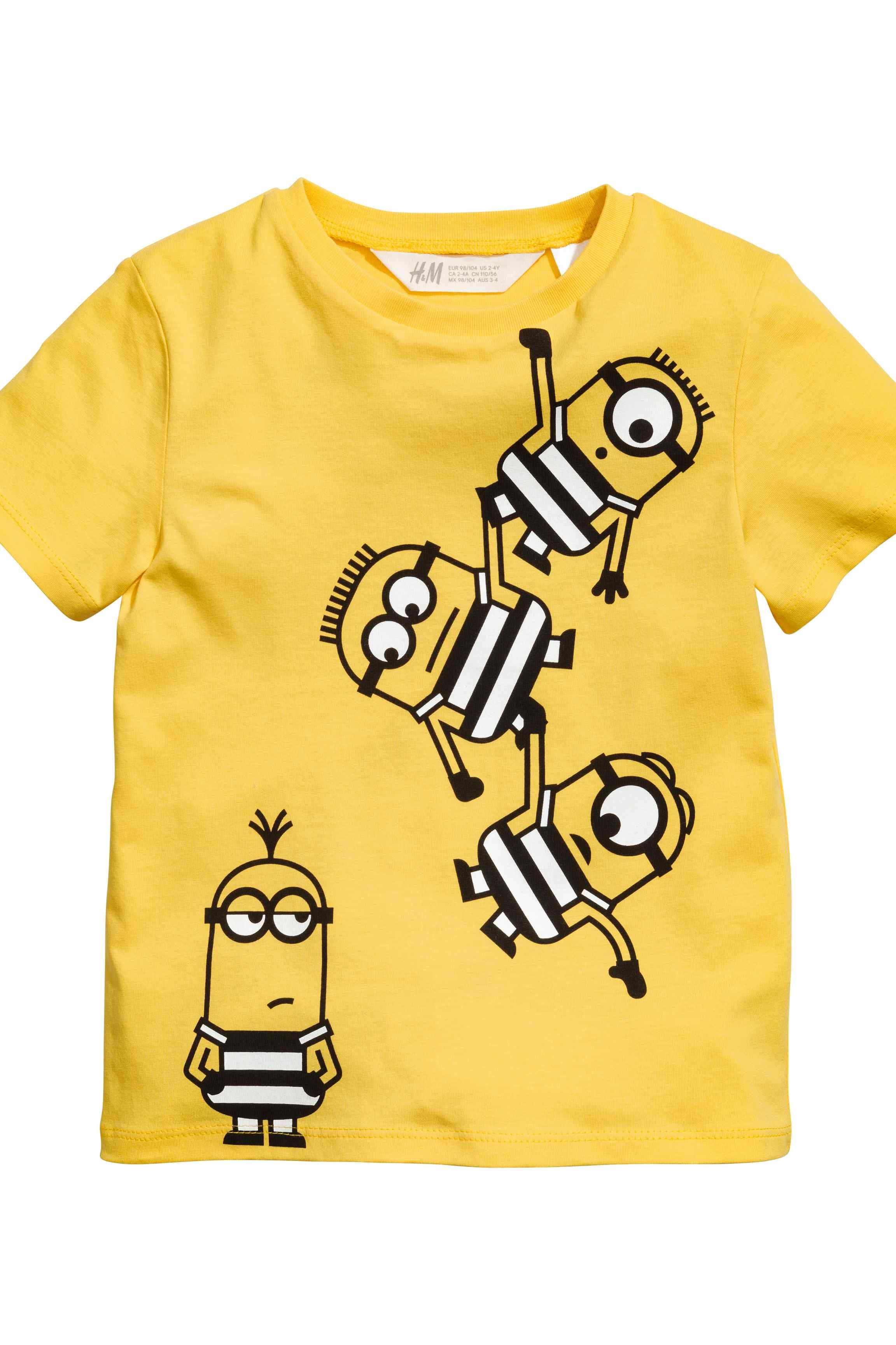 Minions Official Boys T-Shirt Long Sleeve Age 3//8 Years