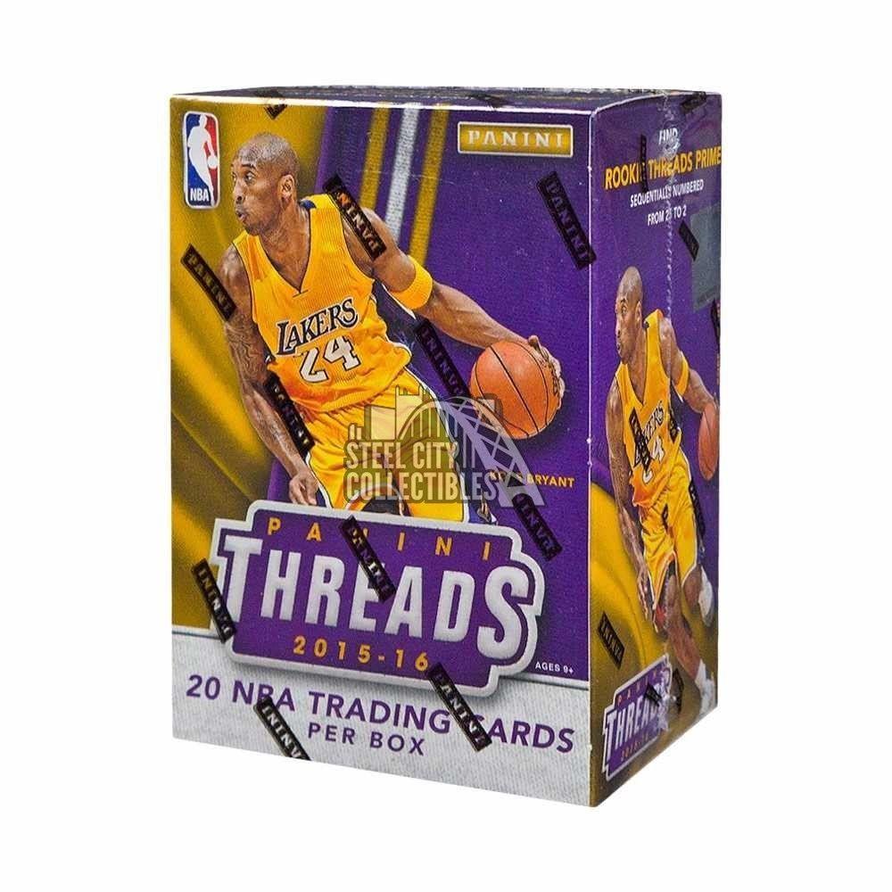 201516 panini threads basketball blaster box football box