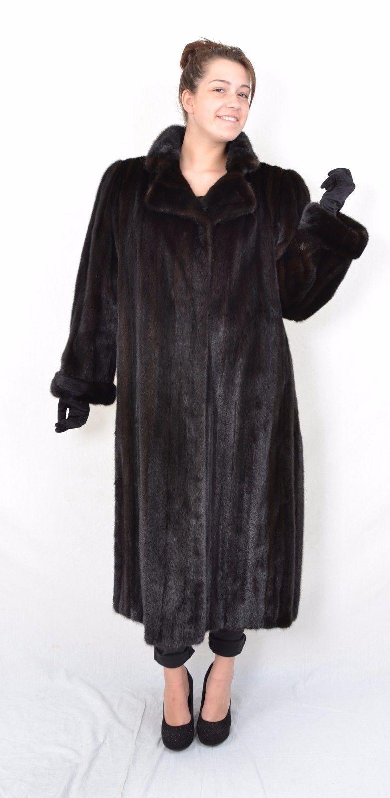 Us282 Softy Fashionable Mink Fur Coat Jacket Full Length Abrigo De Vison Ca Xl Fur Coat Coat Mink Fur Coat [ 1600 x 782 Pixel ]