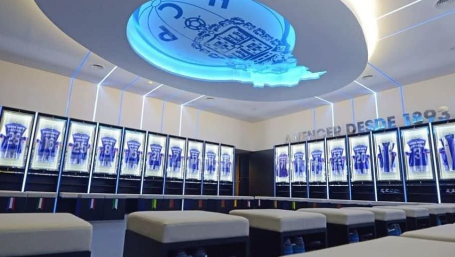 Image By Danny Nay Porto Changing Room World Football